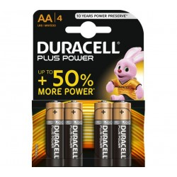 DURACELL PLUS POWEB AA/4