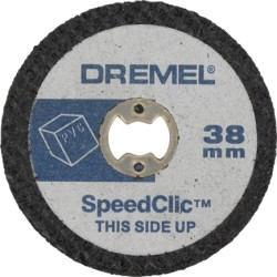 DREMEL EZ SPEEDCLIC: DISCHI DA TAGLIO PER PLASTICA SC476