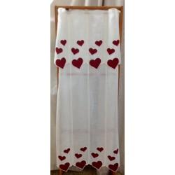 Tendine per vetri con cuori
