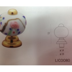 POMOLO IN MURANO ART LIC0080 INVERNIZZI