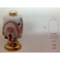 POMOLO IN MURANO ART LIC0081 LORENZO INVERNIZZI